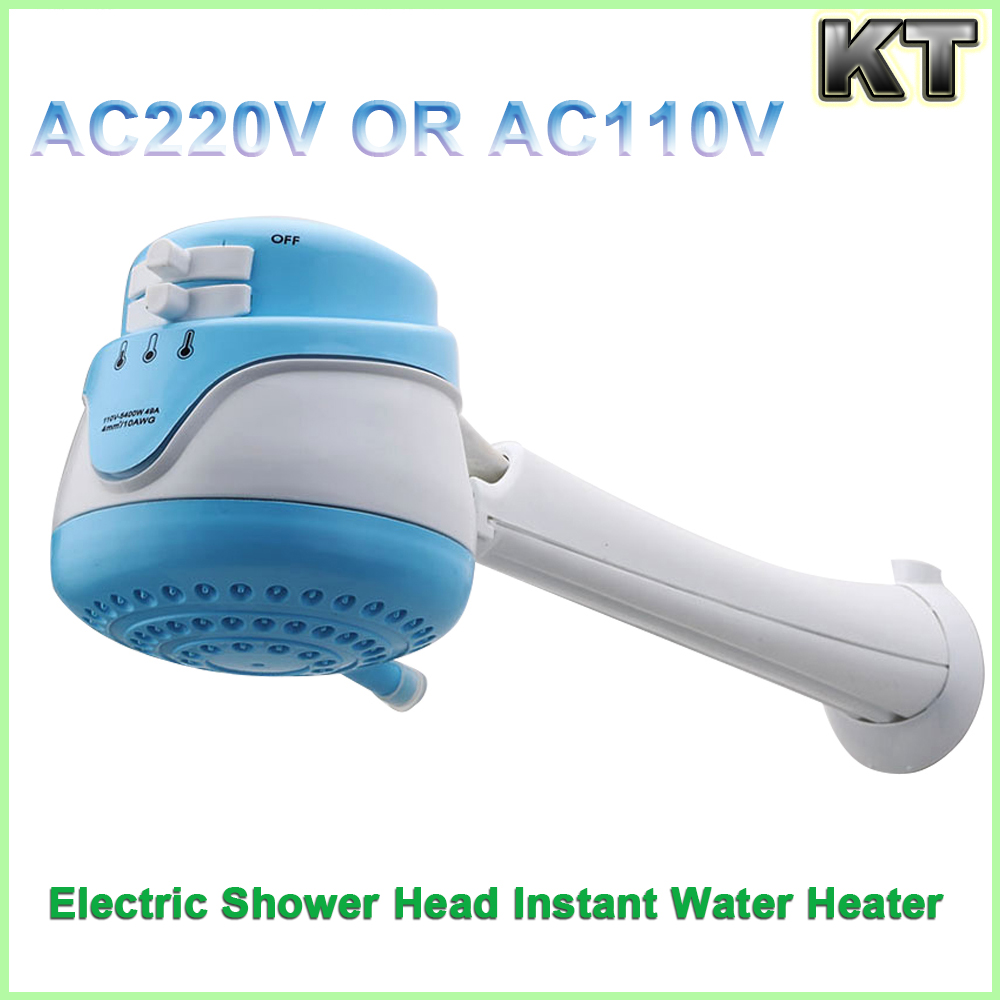 Adjust Water Flow Tankless Instant Electric Hot Water Heater