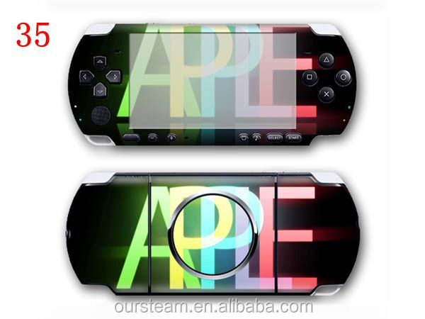 Number design Vinyl Skin Sticker For Sony PlayStation Portable For PSP 3000