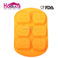Halloween Party Silicone Fashion Design Muffin pumpkin Cake mould Used for Cake/Chocolate/Jelly/Cookie etc.