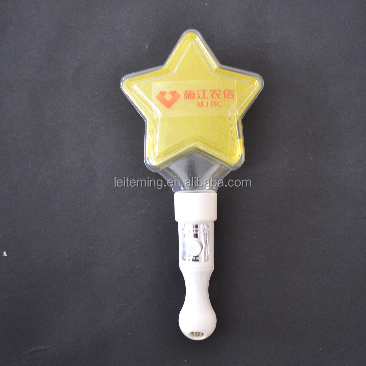 plastic light Led Flashing concert cheer stick