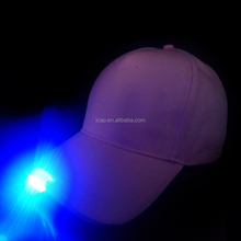 100% cotton led sport hat led promotional caps and hats