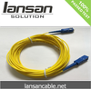 Factory 2.0/3.0mm APC/UPC/PC Yellow Multimode Lc- St Fiber Optical Patch Cord Cable