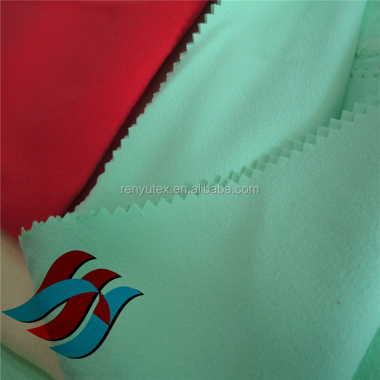 Microfiber Double-sided plush fabric ,beach towels fabrics