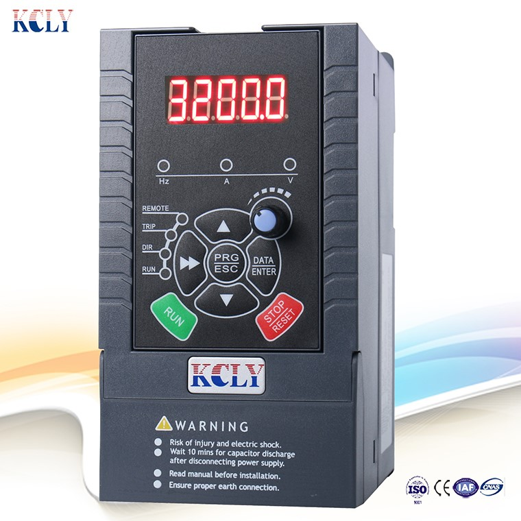 vfd/vsd/AC drive/inverter manufacturer single/three phase 0.75kw1.5kw 2.2kw motor speed controller for fan and water pump