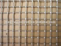 SS Square Hole Crimped Wire Mesh