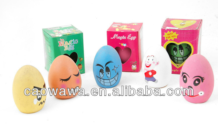 Valentine gift Magic egg magic growing message beans