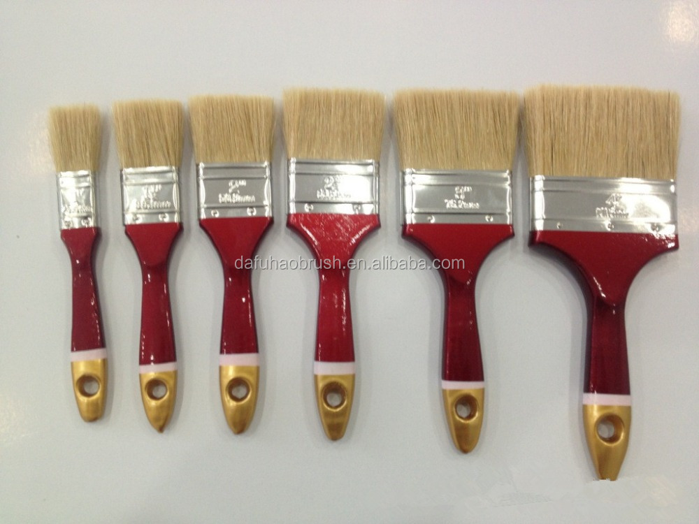 China Manufacturer Hand Tools Nature Bristle Paint Brush
