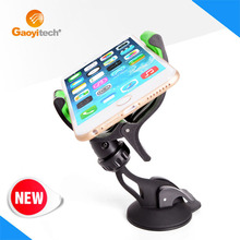 2016 China Made Hot Selling Magnetic Car Gel Sticky Suction Cup Car Holder for Big Screen Smartphone (HC02L)