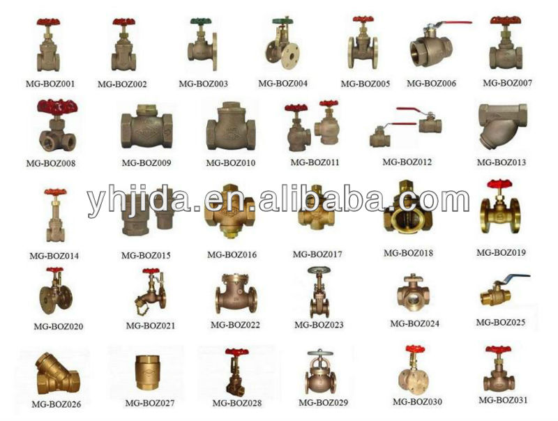 Superior quality transformer Valve Bronze valve in industrial
