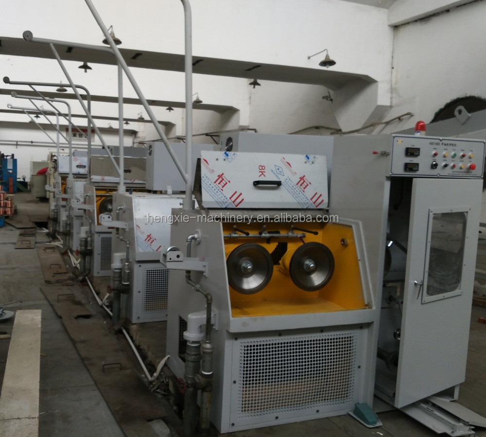 HXE-fine aluminium wire drawing machine for cable making equipment
