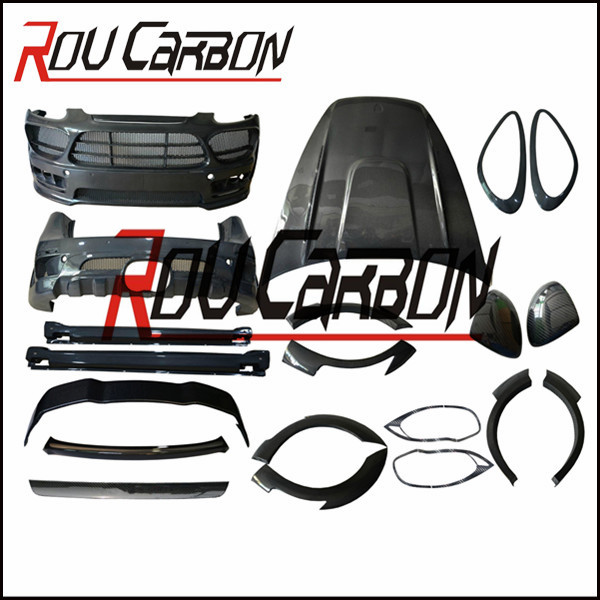 FRP Material and conversion kit Position cayenn 958 Ham body kit