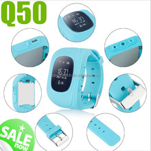2017 hot sale GPS watch Q50 GSM card SOS Call GPS safety tracker Q50 kid smart watch android