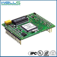 Fr4 94v0 HASL rohs printed circuit board design and PCBA manufacturing