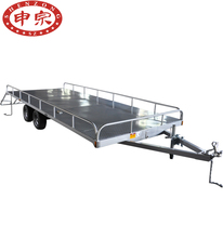 Galvanized Utility UTV Trailer Flatbed Truck Trailer For Sale