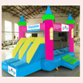 2017 new design best seller customized used commercial bounce houses for sale