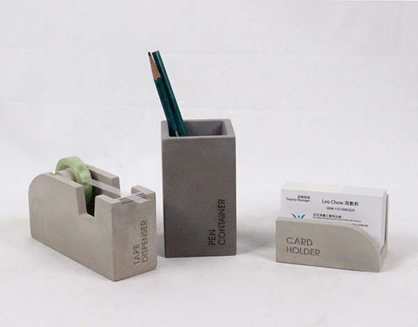 Incroyable Fancy Office Supplies. Luxury Office Supplies Fancy Concrete Pen Container  Custom Cement Pencil Holder O