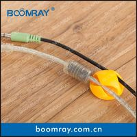 boomray factory 2014 promotional TPR colorful multipurpose cable management kids hair accessory gift set