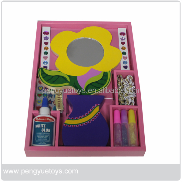 Pretend toys wooden kids play makeup sets for sale