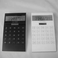 10 digit solar power desktop electronic calculator