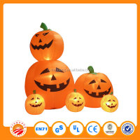 Inflatable yard pumpkin for kids large plastic halloween pumpkin