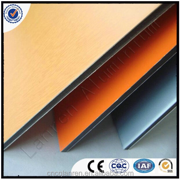 Double sides PE colored insulated aluminum panels price