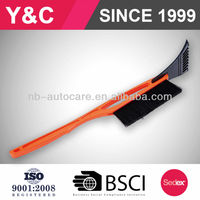 europe hot selling item cheap snow brush ice scraper 22''snow brush with ice scraper power snow brush
