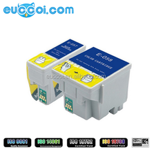 New product color compatible premium printing ink cartridge T057 T058 for Epson ME1 ME100 ME1+ new premium printing ink