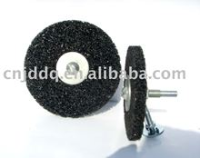 The discs with abrasive tool