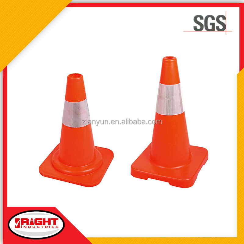 7078-7079 Flexible Reflective PE Traffic Cone