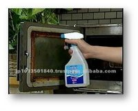 Liquid for cleaning microwave oven made from Ultra Electrolyzed Alkaline Water