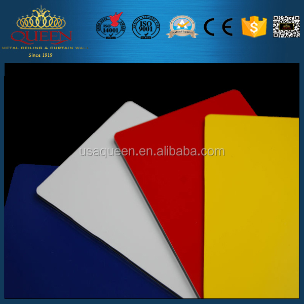 Brand new artistic pvdf/pe aluminum composite panel/aluminum cladding with great price