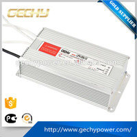 201-300W output power and 180~264VAC/255~373VDC selected by switch input voltage 12v 250w led waterproof switching power supply