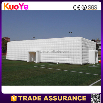 hot sale durable outdoor inflatable cube tent for party
