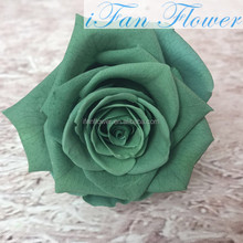 Wholesale fresh Preserved flower in glass preserved rose DIY decoration roses for Mother's Day Occasion/women gift