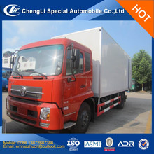 factory sale dongfeng 15tons van cargo box truck