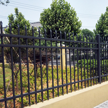 cheap antique decorative PVC coated wrought iron fence panels