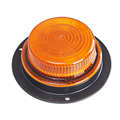 Medium profile amber led strobe lights 12v
