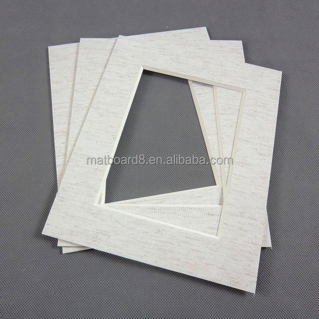 High Quality Precut Matboard Passepartout In Cotton Fabric