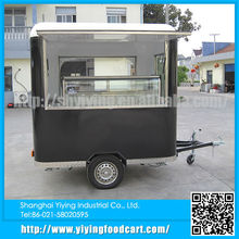 Yiying YY-FS220R China supplier mini semi-trailer food truck for atv camping trailer