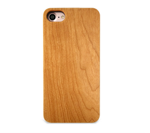 2017 New arrival smooth wooden phone case for iphone x, for iphone x case nature wooden