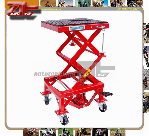 Hydraulic Dirt Bike Stand & Motorcycle Lift for Motorcross Repair