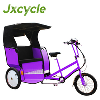 new fashion rickshaw 3 wheel bicycle with roof