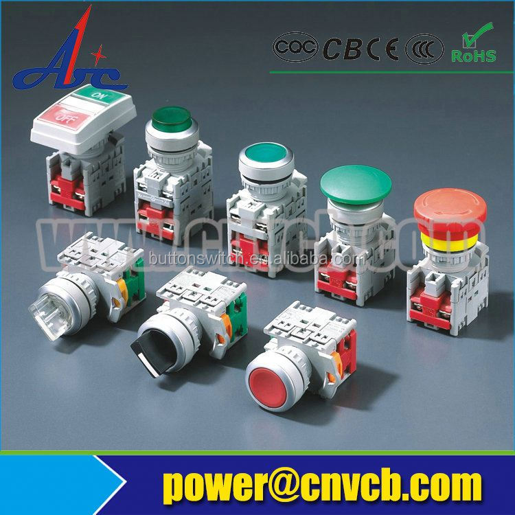 16mm emergency stop pushbutton switch / elevator emergency stop switch