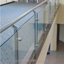Golden supplier ! Stainless steel Tempered Laminated Glass handrail