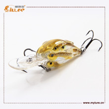 Weihai ILURE 2015 New Product Fishing Lure Threadfin Shad Crankbait Hard Fishing Lure School 3 Fish Baitball
