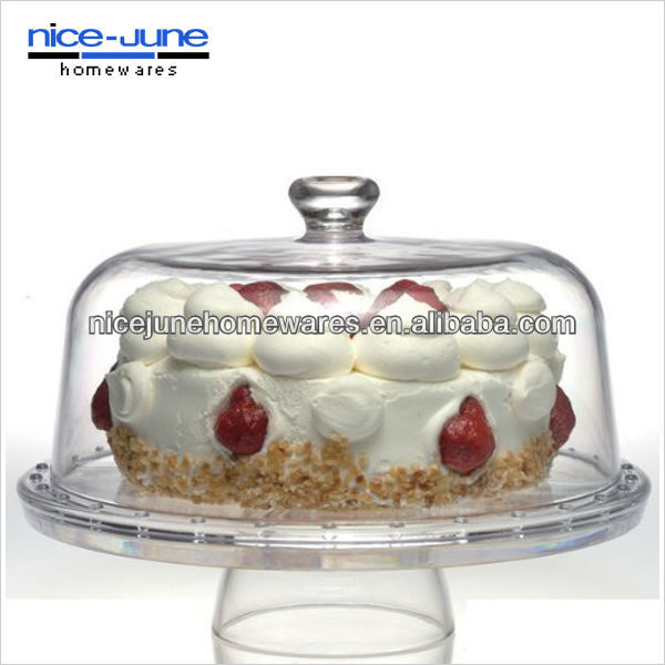 FDA Crystal cake stand use for wedding