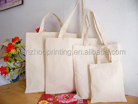 Green China Manufacturer New Style 100% high quality oem production cotton tote bag