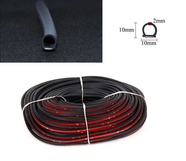 3M auto door seal rubber car weatherstrip strip/epdm rubber weather strip