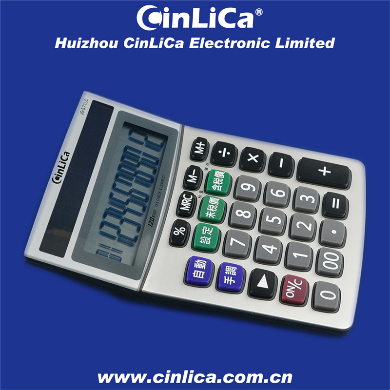 check correct calculator 12 digit big solar tax calculator from Huizhou