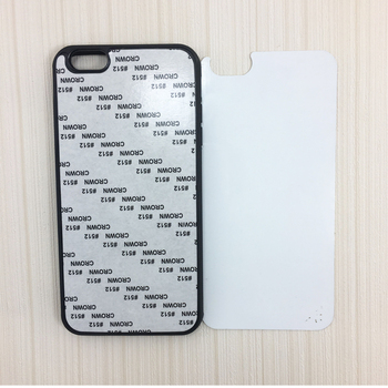 Wholesale customed 2D sublimation blank TPU phone cases for Iphone 6 plus/6s plus